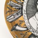 Fornasetti plate, Grandi Maestri, Rossini_4
