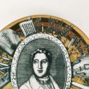 Fornasetti plate, Grandi Maestri, Rossini_3