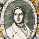 Fornasetti plate, Grandi Maestri, Rossini_2
