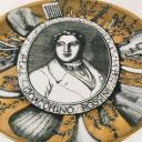 Fornasetti plate, Grandi Maestri, Rossini_1
