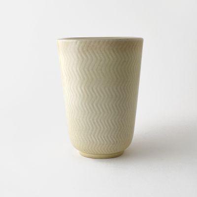 White ceramic vase Marselis by Nils Thorsson for Royal Copenhagen_0