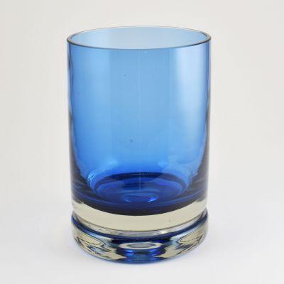 Blue vase from the luxus serie, Riihimäki Lasi, Nanny Still_0