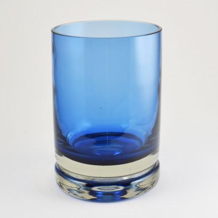Blue vase from the luxus serie, Riihimäki Lasi, Nanny Still