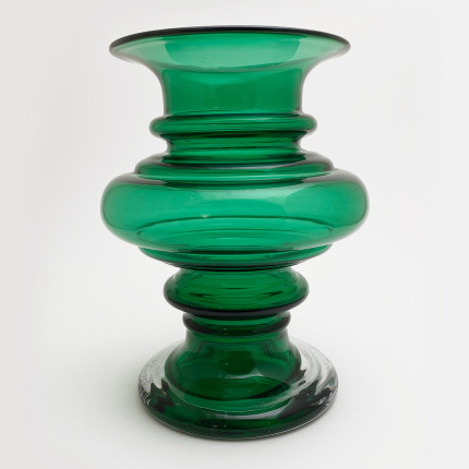 Green vase by Tamara Aladin for Riihimaen Lasi Oy