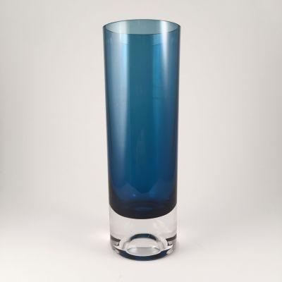 Kaj Franck blue vase for Nuutajarvi Notsjo, Finland_0