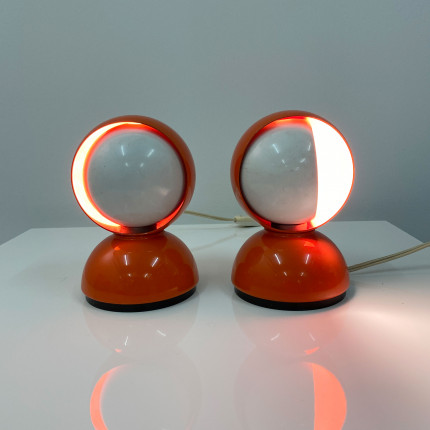 2 Eclisse lamps by Vico Magistretti for Artemide