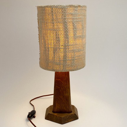 anthroposophical wooden lamp dornach