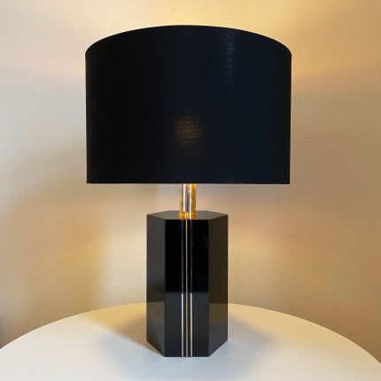 Italian or french lamp in the style of Willy Rizzo