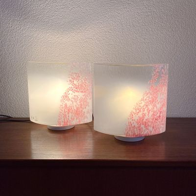 pair of lamps Idra by Rosanna Toso for Leucos_0