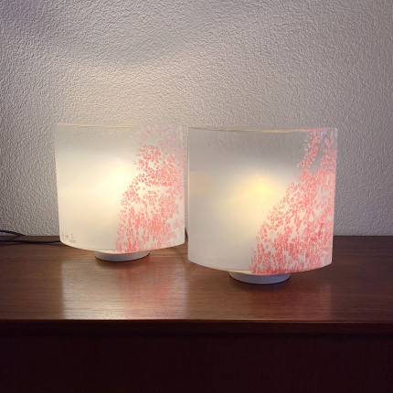 pair of lamps Idra by Rosanna Toso for Leucos