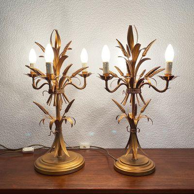 Vintage pair of lamps by hans Kögl, 1970s_0