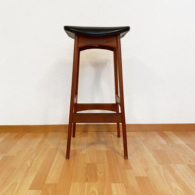 Set of 4 bar stools designed by Johannes Andersen_0