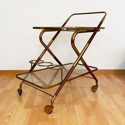 Cesare Lacca Italian vintage tea trolley_0