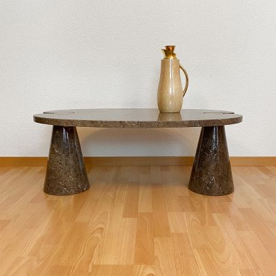 """marble low table """"Eros"""" P72 by Angelo Mangiarotti_0"""