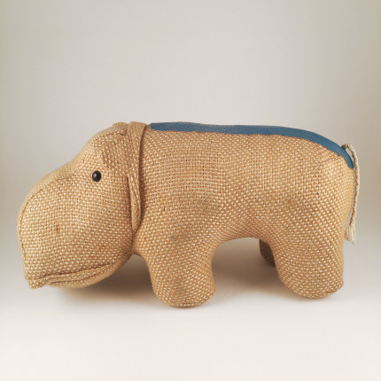 Therapeutic toy hippopotame by Renate Müller