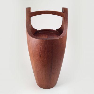 Wood ice bucket designed by Jens Quistgaard_0